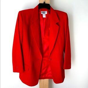 Vintage Pendleton long power blazer 10 Petite